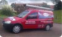 Picture of the Paul Hallet Plumbing Supplies Van